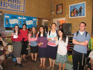 """Students of Yeshiva University in JCC """"Migdal"""""""